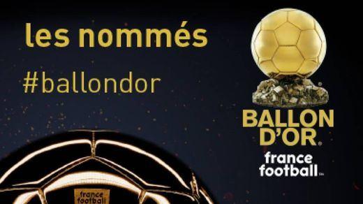 Los nominados al Balón de Oro, masculino y femenino, y al Trofeo Kopa