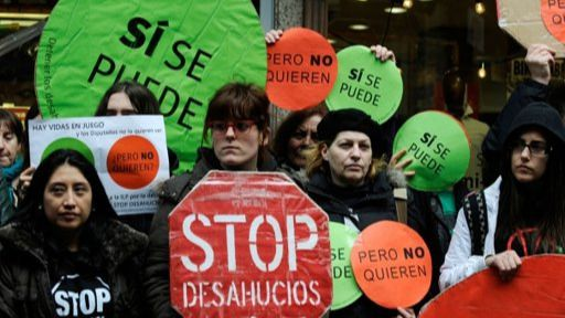 Aumentan los desahucios hasta niveles de 2013: 33.000 en lo que va de año