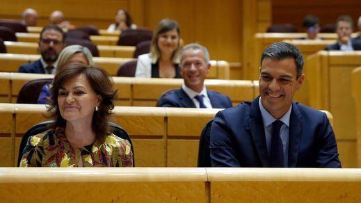 Sánchez se niega a comparecer en el Senado por su tesis doctoral