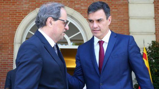 Torra rechaza el 'plan Sánchez' e insiste en un nuevo referéndum para resolver el conflicto catalán
