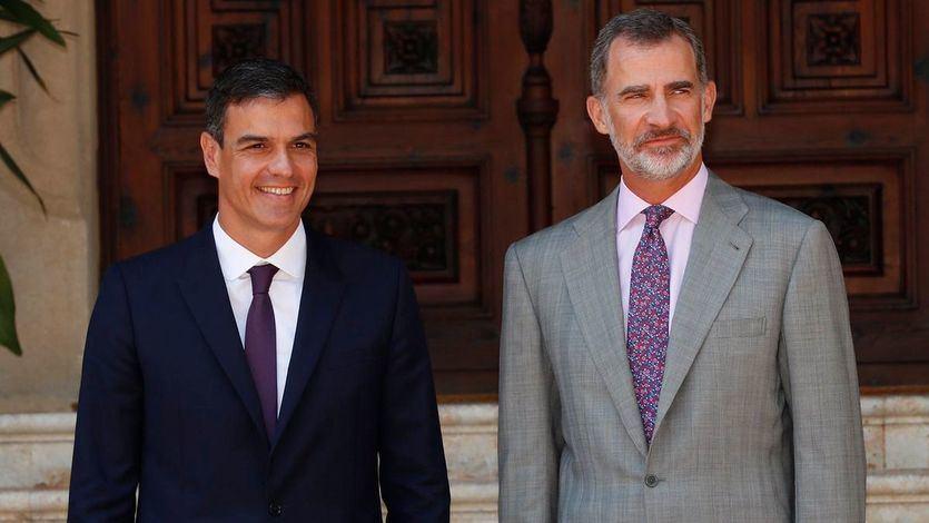 La Casa del Rey asume el error de protocolo de Sánchez y su mujer el 12-O: 'Siguieron las indicaciones'