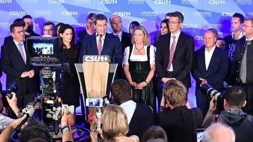 Los aliados de Merkel pierden la mayoría absoluta en Baviera y avanzan los Verdes