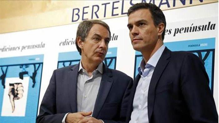 Zapatero no informó a Sánchez de su encuentro con Otegi 'ni antes ni después'