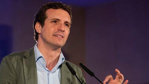 Casado hará también oposición en Bruselas alertando sobre los Presupuestos de Sánchez
