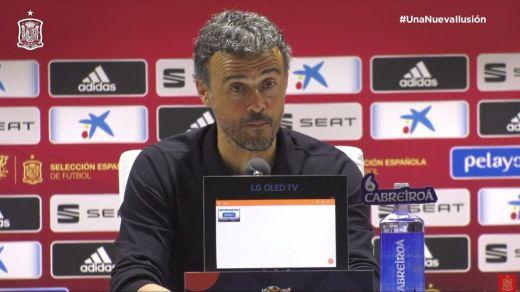 El Luis Enrique de siempre reaparece en la primera derrota con España: