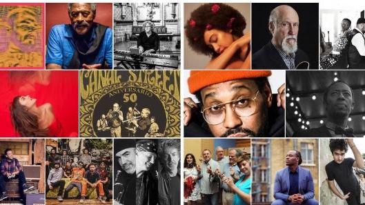 Mejor, imposible: Clamores se llena durante un mes de las grandes figuras mundiales del jazz (vídeo)