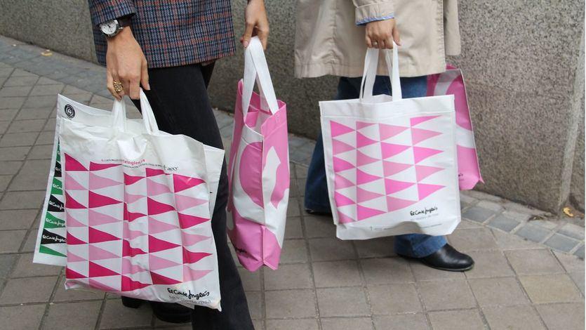 Logotipo rosa de El Corte Inglés con motivo del Día Mundial Contra el Cáncer de Mama