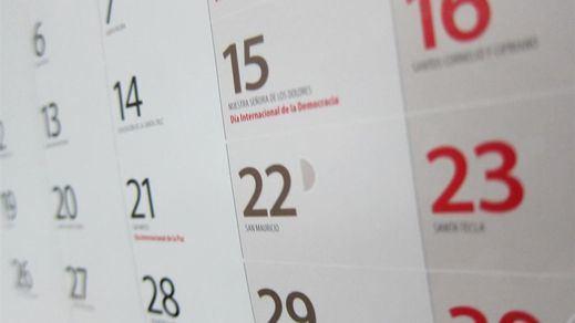 Calendario laboral 2019: festivos y puentes más destacados (oficial)