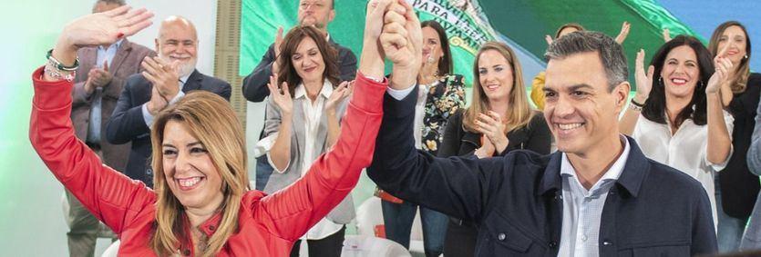 Sánchez y Díaz aparcan sus diferencias para lanzar la precampaña andaluza, clave para el futuro del PSOE y del Gobierno
