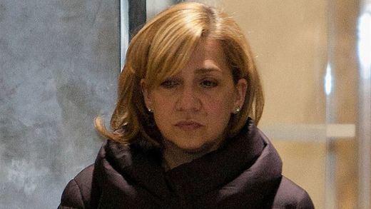 Denuncian trato de favor a la infanta Cristina para visitar a Urdangarín