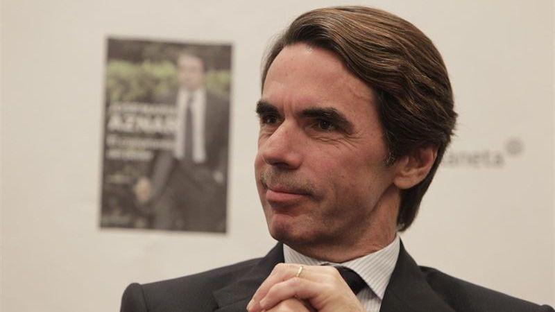 Aznar sueña con un PP escorado a la derecha donde vuelva Abascal, líder de VOX