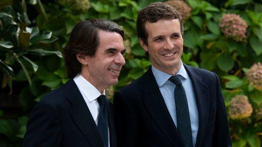 Aznar abraza al nuevo PP de Casado y entierra sus diferencias con el partido en la era Rajoy