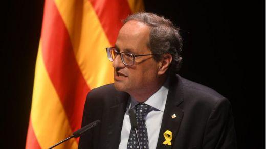 PP y Ciudadanos piden activar ya el 155 y Torra anuncia una mesa de diálogo