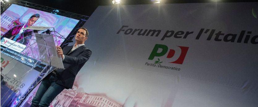 Sánchez hace una llamada a la moderación desde Italia