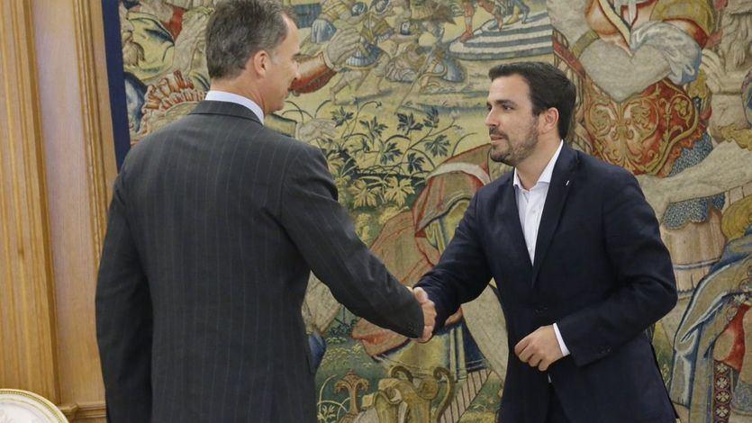 Garzón desafía a la monarquía después de que el Gobierno saliera en defensa del Rey