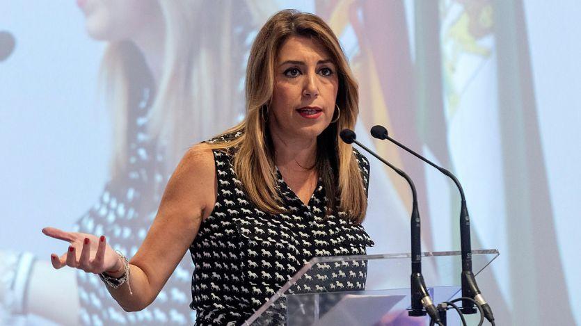 Susana Díaz rehuye la pelea que busca el PP: 'No me va a encontrar el señor Casado en los insultos'