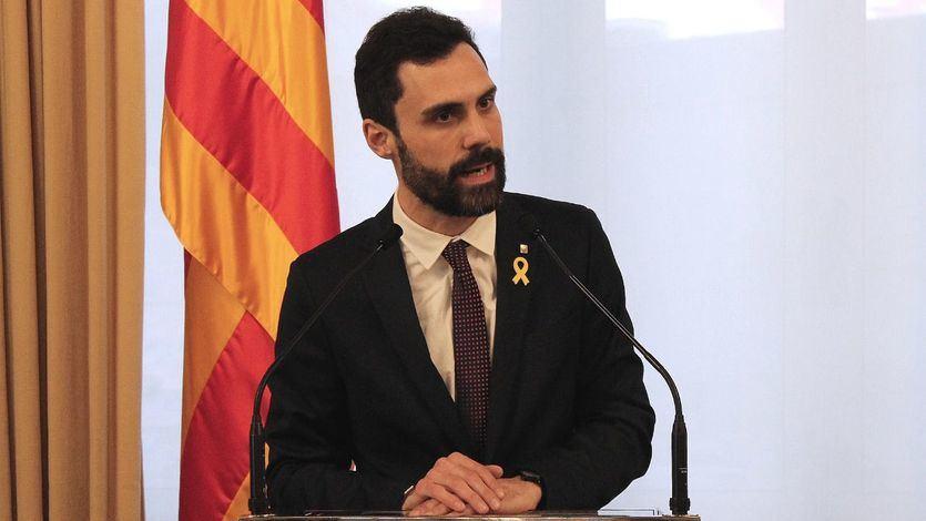 ¿Qué hacía Roger Torrent en el 600º aniversario de la Generalitat Valenciana?