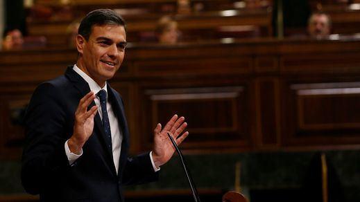 Sánchez tiende la mano a PP y Cs para negociar los Presupuestos mientras Casado exige a Rivera volver al bloqueo