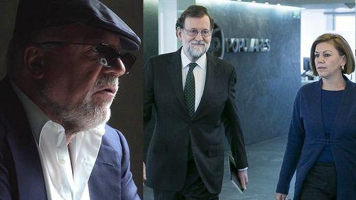 Cospedal y Rajoy conocían las pruebas de la Gürtel contra el PP y hablaron con Villarejo de ocultarlas y destruirlas