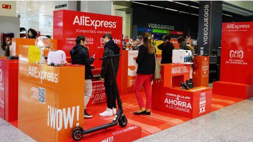 El Corte Inglés y AliExpress sellan un acuerdo pionero para abrir una 'pop up' en Madrid