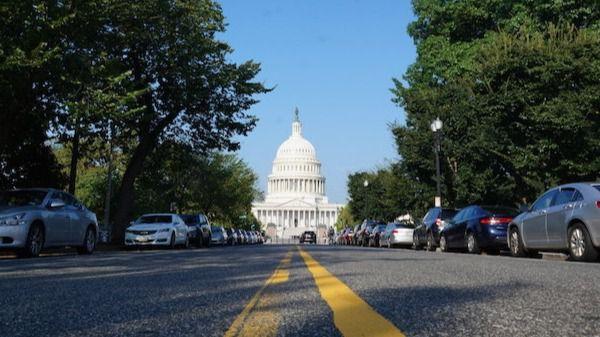 Capitolio de EEUU en Washington D.C.