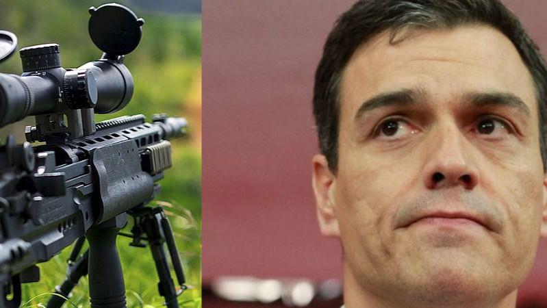 Un francotirador de ultraderecha planeó matar a Sánchez por querer exhumar a Franco