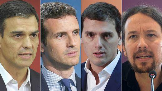 Un nuevo sondeo encumbra al PSOE y Cs mientras el PP y Podemos se desploman
