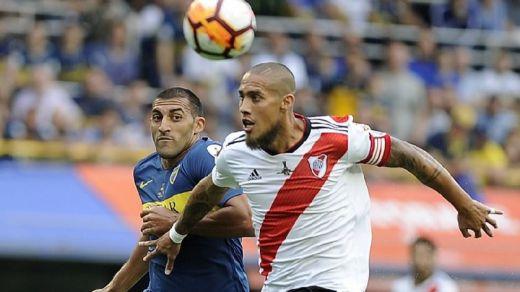 Boca y River empatan a todo en el primer duelo de la gran final de Libertadores (2-2)
