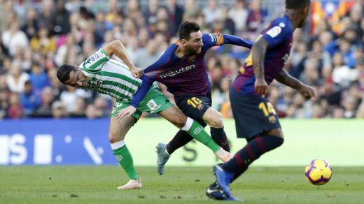 42 partidos después, el Barça perdió en casa a manos de un valiente Betis (3-4)