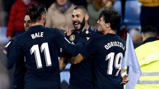 Benzema se quita a los críticos de encima con un partidazo y dando la victoria al Madrid (2-4)