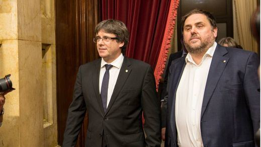 Puigdemont cede y está dispuesto a una lista conjunta con ERC en las elecciones europeas