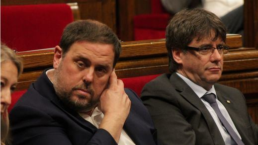 Junqueras rechaza que Puigdemont sea su 'número 2' en una lista conjunta para las elecciones europeas