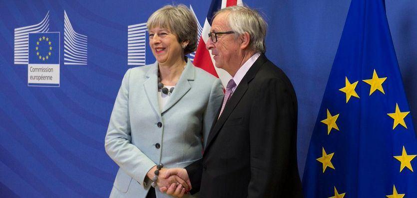 Reino Unido y la UE llegan a un principio de acuerdo para el Brexit