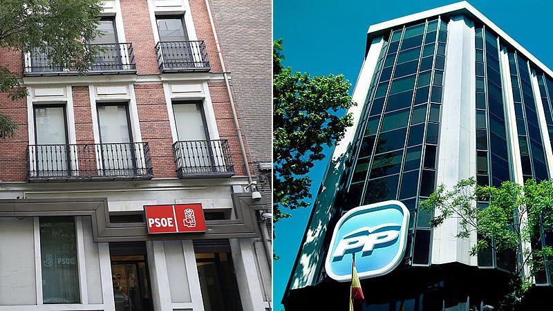 El bipartidismo vuelve a sus buenos tiempos: PP y PSOE, felices y amigos tras el reparto de jueces