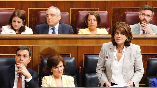 La 'salida' de la ministra de Justicia ante la insistencia de Cs en los indultos a los líderes del 'procès'