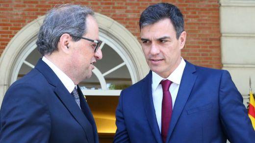 La oferta que hará Sánchez a Torra tras la sentencia contra los responsables del 'procés'
