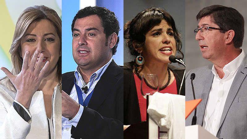 Así están los bolsillos de los candidatos andaluces: Susana Díaz sólo tiene 80 euros en la cuenta