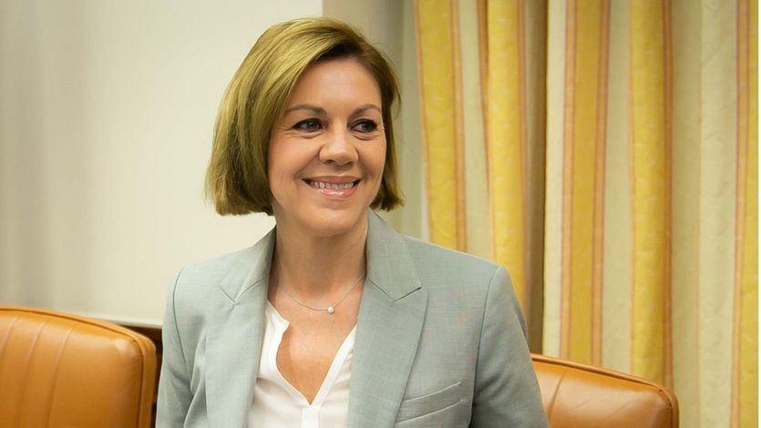 Ministra de Defensa, María Dolores de Cospedal
