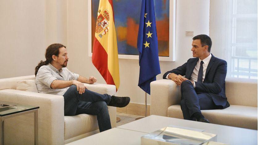 Iglesias pone a Sánchez contra la espada y la pared: Presupuestos o elecciones