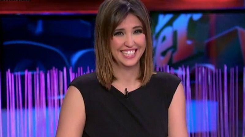 La presentadora Sandra Sabatés