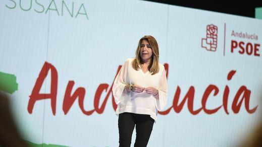 Susana Díaz, crecida por las encuestas: