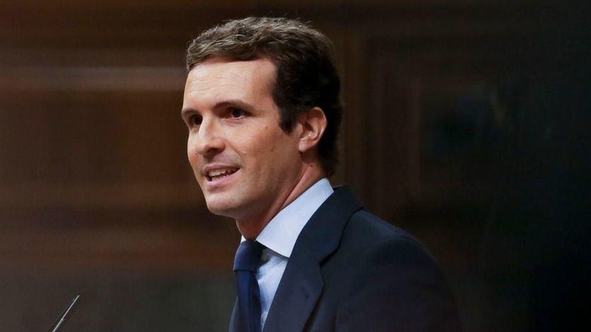 Casado reprocha a Sánchez que sea 'muy duro con los dictadores muertos y muy cobarde con los vivos'