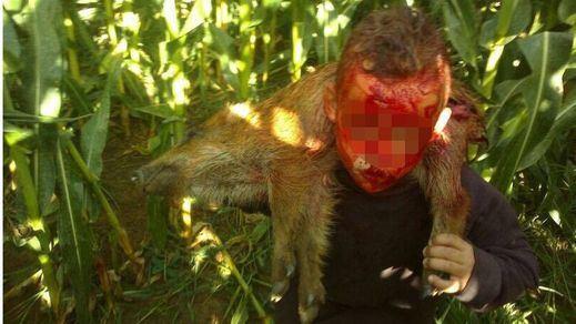 Una cierva comida viva, un jabalí apedreado, un galgo ahorcado... PACMA difunde más vídeos para denunciar la crueldad de la caza