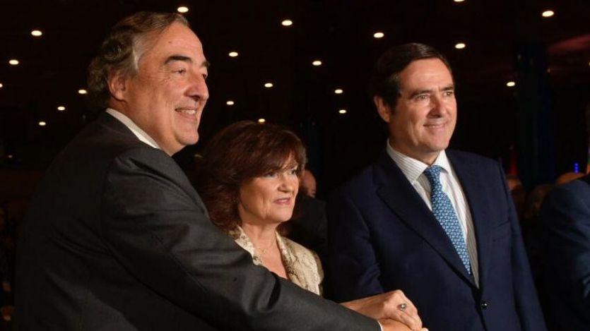 La patronal CEOE sustituye al catalán Juan Rosell por el vasco Antonio Garamendi como presidente