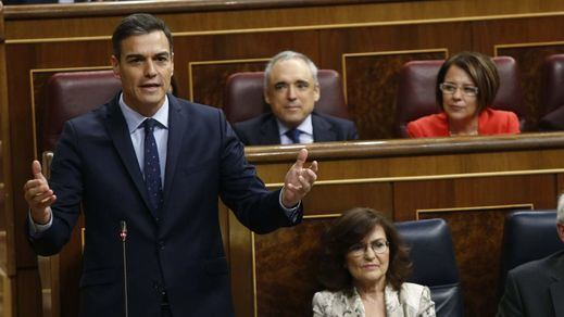Sánchez intenta calmar la tensión parlamentaria con ERC en plena negociación del 'procés'