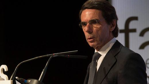 Aznar explota: