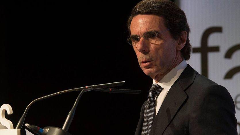 Aznar explota: 'Es el momento de defender la Constitución de quienes quieren quebrar la Nación española'