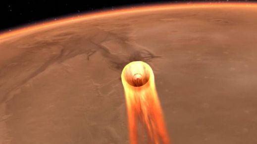 Otro hito espacial: la sonda InSight llega sana y salva a Marte