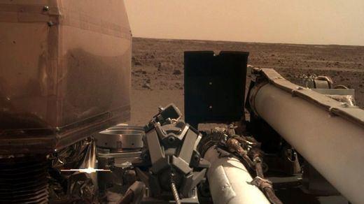 Primeras fotos de Marte gracias a la sonda Insight