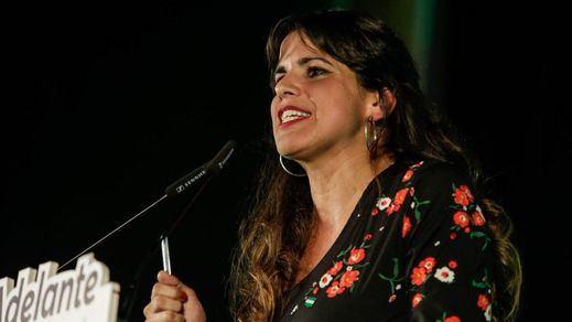 Teresa Rodríguez enfría las posibilidades de un gobierno andaluz de coalición con el PSOE